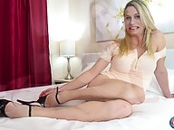 "Canadian beauty Nikki Vicious makes her ""Cumshot Monday"" debut in a smashing episode brought to you by Radius Dark! Nikki has been with us for some time already and she looks better than ever! You got to love Nikki's perfect body, long legs and an amazing"